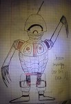 Even Sadder Bot with No Eyes 2D