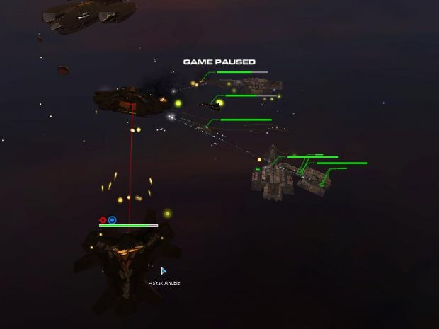 battle 6 mins 2 kill an Ha'tak ship