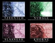 Four Chaos Gods