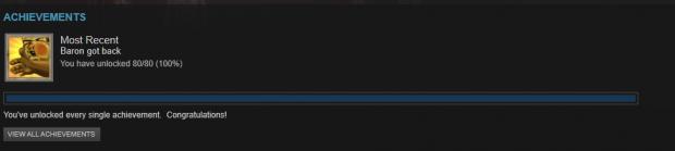 Warband Achievements 100%