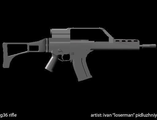 H&K G36 Rifle