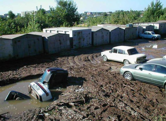 pot holes in Russia