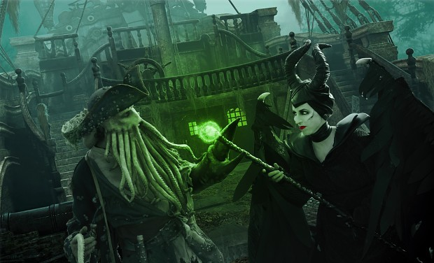 Davy Jones vs Malificent