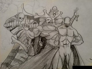 Some Villains from my Comic