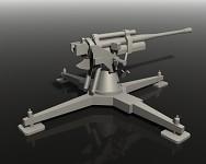 Flak Cannon - Render