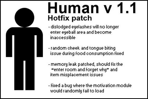 Human hotfix vv1.1