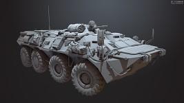 BTR-80 Front