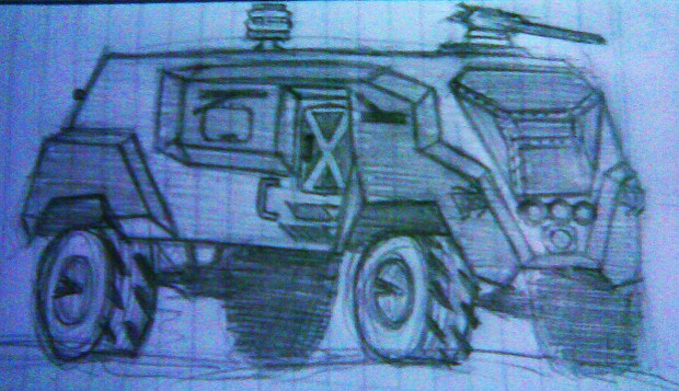 Armored vehicle concept