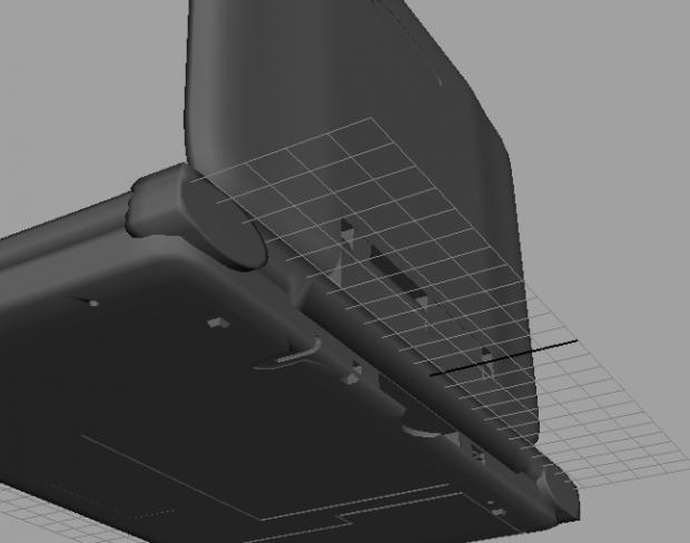 First Model - Nintendo DS (Modeled in Maya)