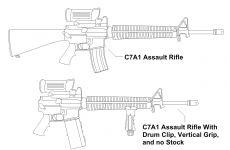 Gun W/ Upgrade Concepts