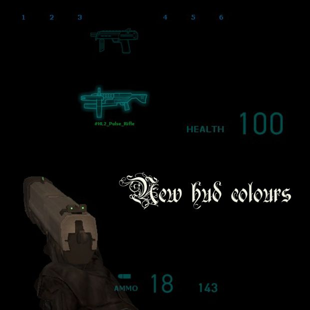 Mod HUD colours