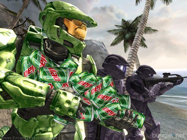 Halo: Mountain Dew on the brain