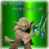 Halo: My sword...pawn you it will