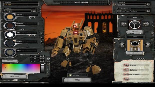 XV8 Crisis Battlesuit