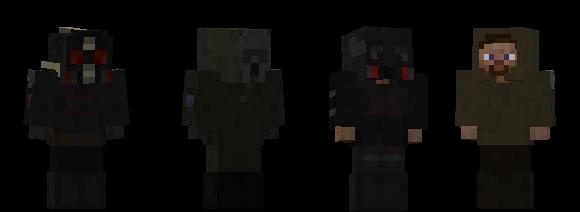 S.T.A.L.K.E.R. Minecraft Skins