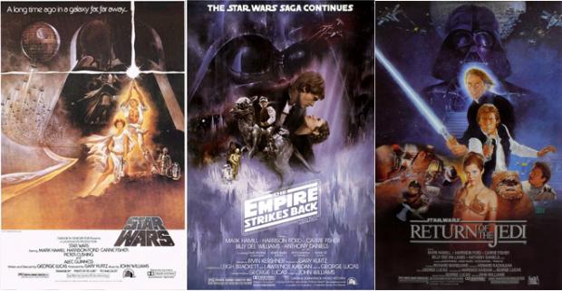 Original Star Wars Posters