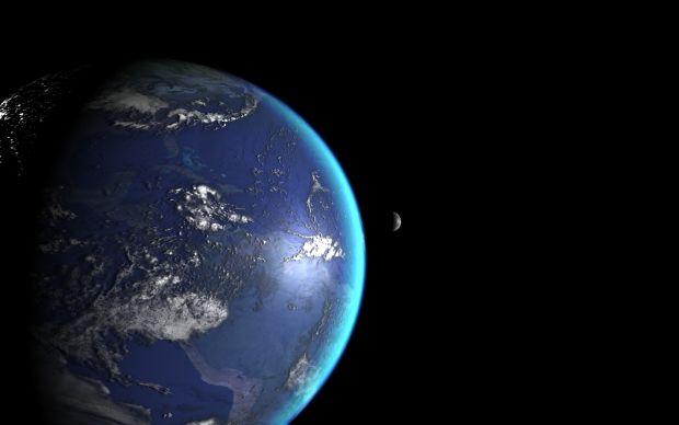 Earth & Moon attempt 4