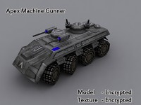 Apex Machine Gunner