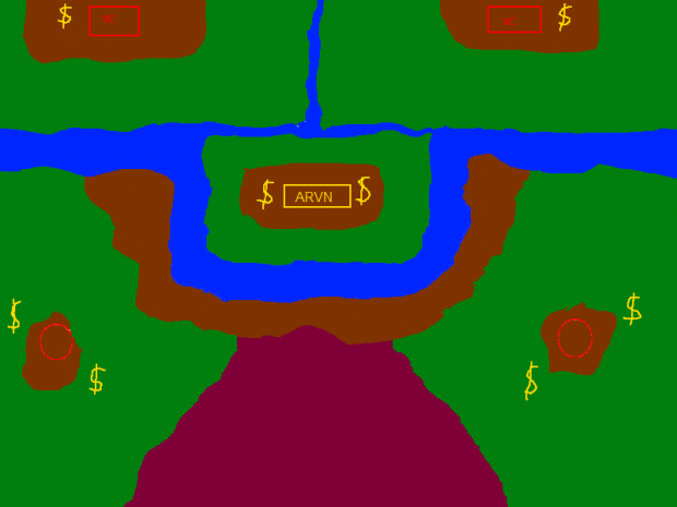 Blood River map sketch