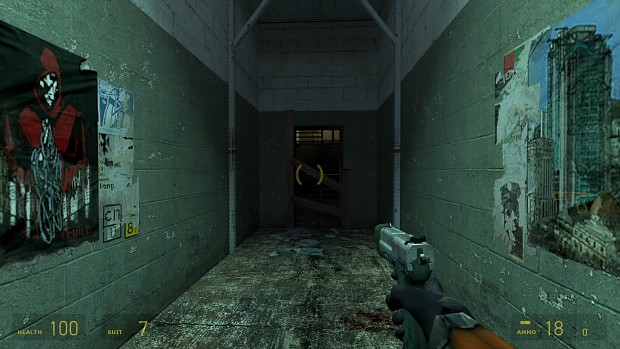 Early HL2 Pistol Remake