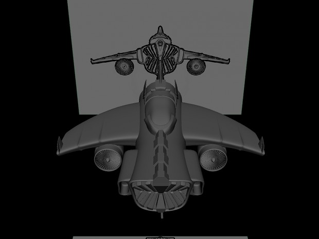 Space Jet (model finished)