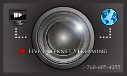 Live Streaming Business Card Design