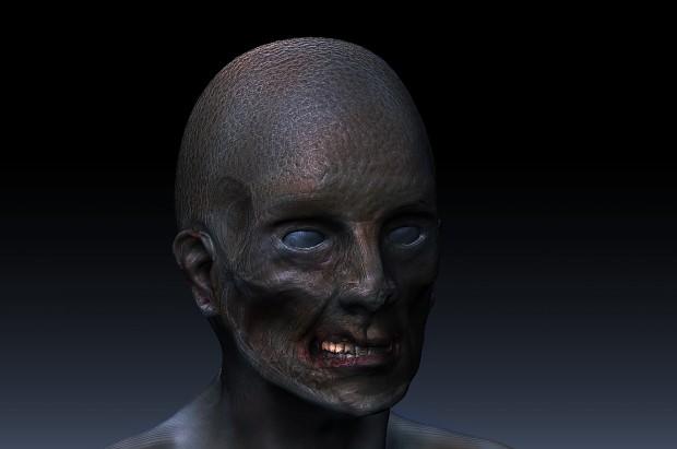 Zombie Model WIP