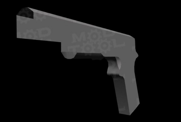 Unfinished Colt.45 pistol