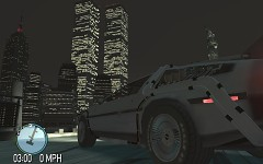 World Trade Center + DeLorean Time Machine