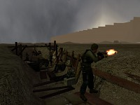City 17 Border Wall Trenches