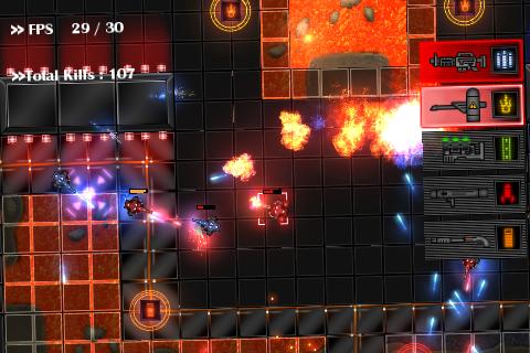 CyberBlood in-game screenshots