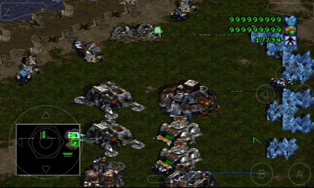 Starcraft on Android (Somewhat)