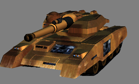 Light Tank mkII in RA3 shaders