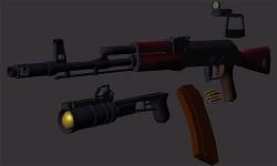 AK74 WIP
