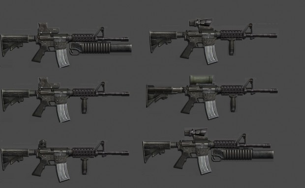M4s Attachments (Project Reality)