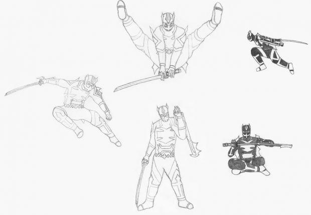 Steel Samurai - Character Sheet (WIP)