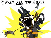 Carry ALL the guns