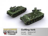 Gattling-tank