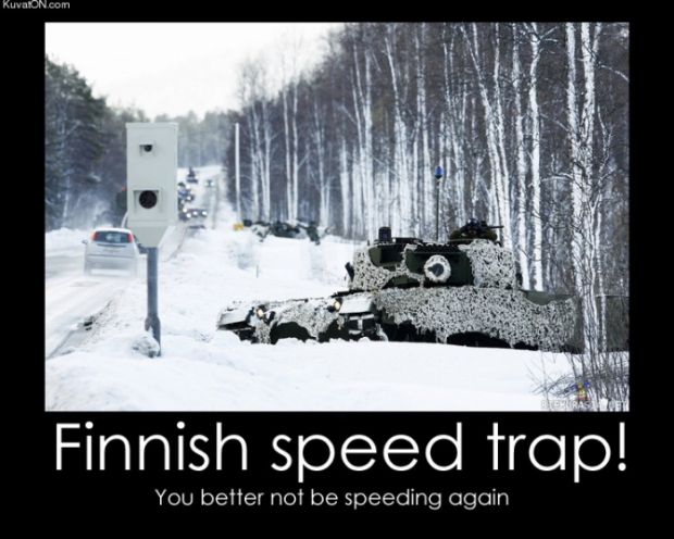 Finnish Speed Trap!