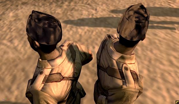 commando hat glitch