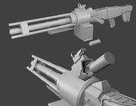 Z-250 Gatling Gun