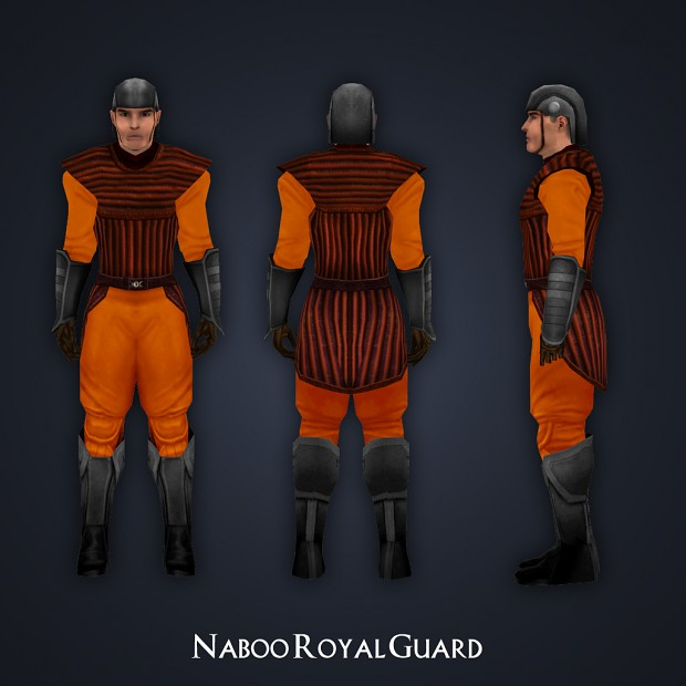 Naboo Royal Guard Skin