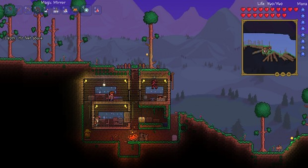 Terraria: my early game home in v1.2