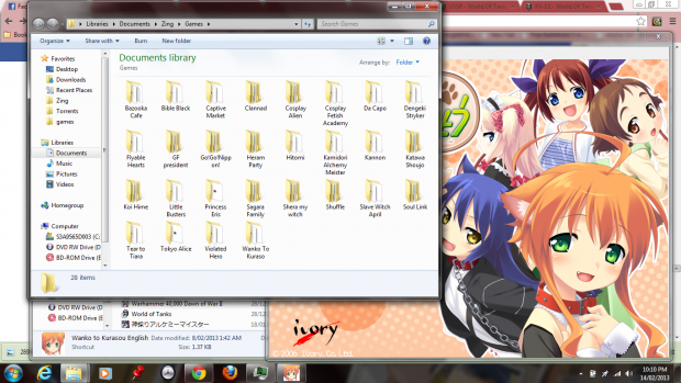 All my Visual Novels