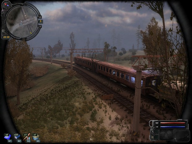 S.T.A.L.K.E.R. Call of Pripyat - Jupiter Train