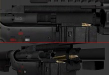 H&K 416 - Bolt carrier and internals