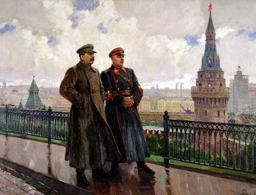Ста́лин и Ворошилов