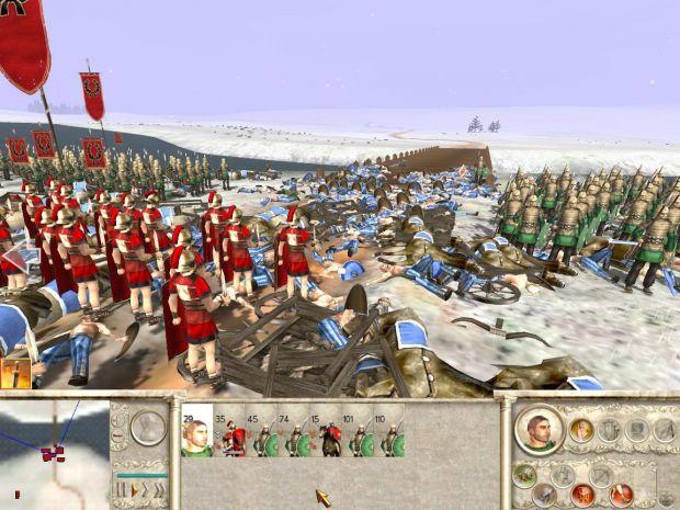 Rome Total War screenies
