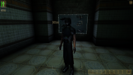 Doom 3 Security Guard in Deus Ex