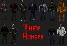 They Hunger Zombie pack